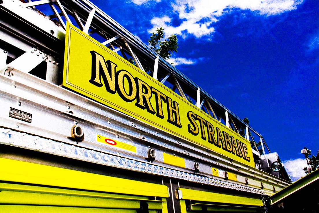 North Strabane Title on a Fire Truck